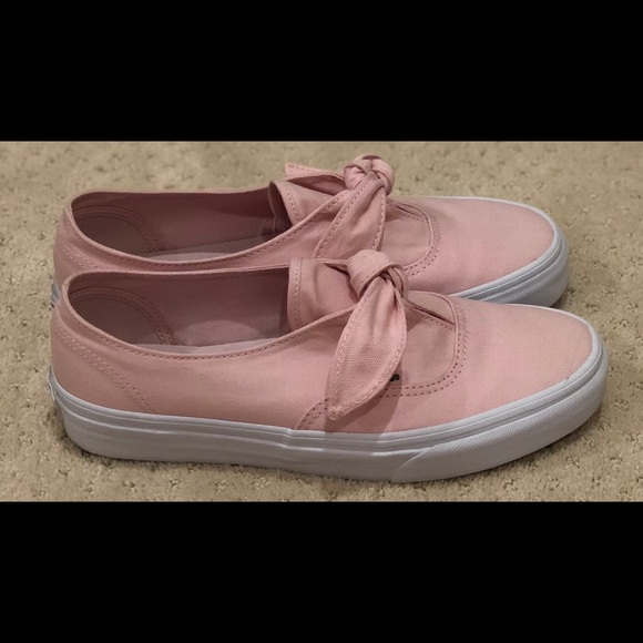 buy \u003e pink vans with bow, Up to 79% OFF